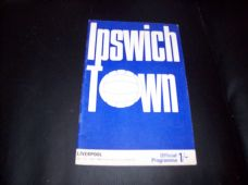 Ipswich Town v Liverpool, 1969/70